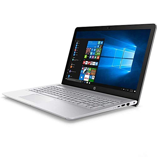 HP 15.6 inch HD Laptop, Intel Core i5-7200U Processor 2.5GHz, 12GB DDR4 RAM, 1TB HDD, HDMI, Bluetooth, SuperMulti DVD, WiFi, HD Webcam, Windows 10 -Turbo Silver