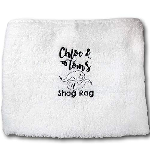 Shag Rag Wank Wipe Embroidered Hand Towel Gift for Couples Sex Towel Funny Gift Cum Cloth Valentine Gift Birthday Present Sex Towel