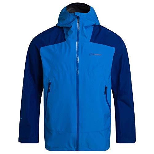 Berghaus Paclite Peak Vent Gore-Tex - Giacca impermeabile da uomo, Uomo, Giacca impermeabile, 4A000840DO5, Blu brillante e blu sodalite., S