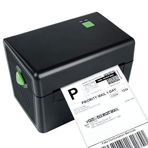 Etikettendrucker Thermodrucker Desktop Label Printer USB-Direkt Etikettiermaschinen Hochgeschwindigkeits kompatibel mit 4 x 6 Versandetiketten, Ebay, Etsy, Shopify, Amazon Barcode