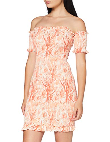 Guess Estella Dress Vestido, Multicolore, XL para Mujer