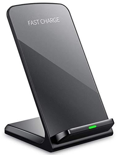 Cargador inalámbrico Qi del teléfono móvil de Tec-Digi, Cargador rápido del teléfono Samsung del iPhone Certificado Qi