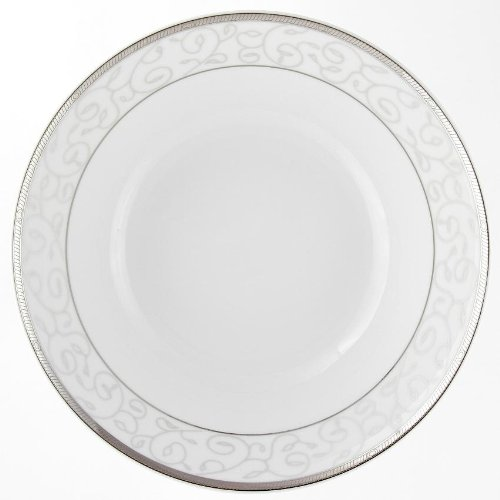 Saladier rond 26 cm Montbretia en porcelaine
