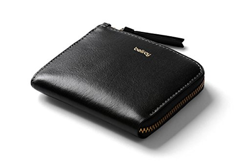 Bellroy Pocket Mini, Damen- und Herren-Geldbörse (für max. 10 Karten und Bargeld)-Black