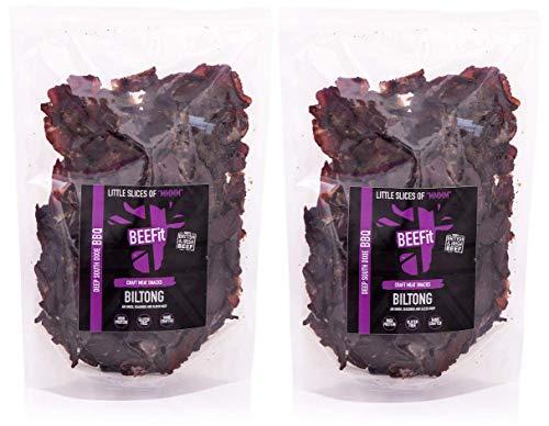 1 KG (2x500g) BBQ BILTONG preis gewonnenes BILTONG. Gluten & ZUCKER Frei, hoher Proteingehalt,...