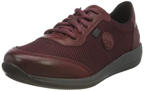 Rieker Damen N1121 Sneaker, rot, 39 EU