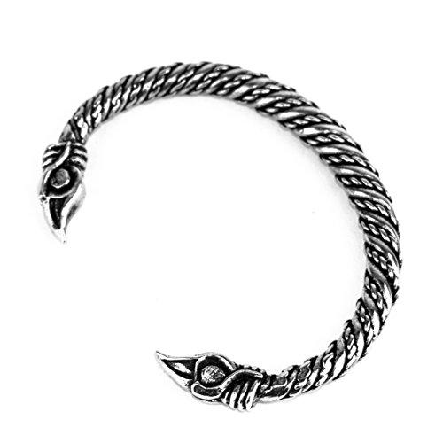Bracelet Motif Corbeaux d'Odin (Hugin et Munin)