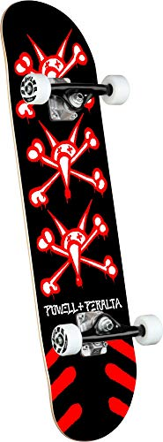 Powell Skate Completo Peralta: Vato Rats Black Red 8.25