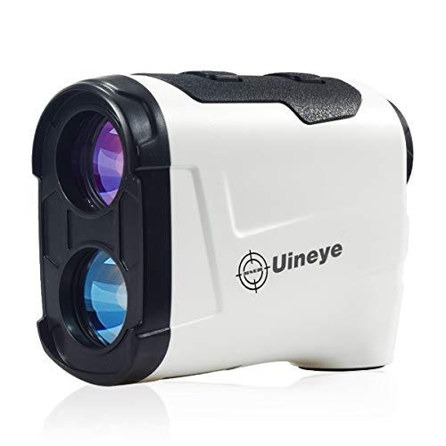 Uineye Golf Rangefinder 850 Yards Laser Range Finder for Hunting with Slope Measurement and Flagpole-Locking Vibration