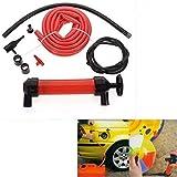 VRT Auto Car Multi Use Water Oil Fuel Pump Transfer Liquid Pipe Siphon Tool Pump Kit