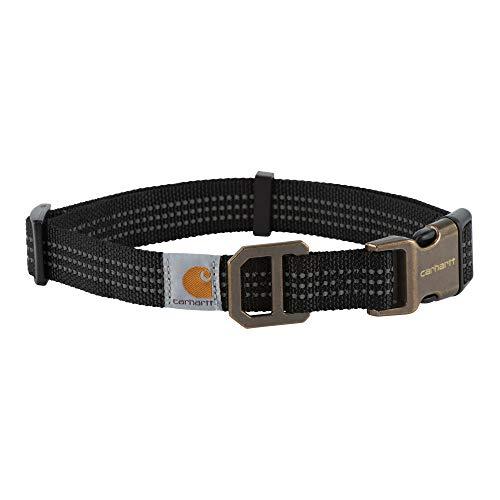 Carhartt Dog Collar Black/Brushed Brass
