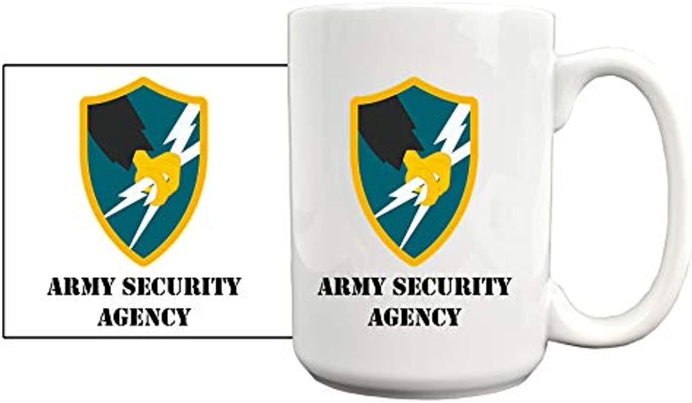 Medals Of America Army Security Agency Coffee Mug White