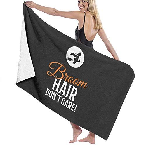 U/K Toalla de baño de pelo no importa para Halloween de secado rápido