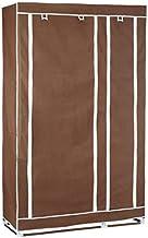 PORTABLE WARDROBE 28109 BROWN COLOR