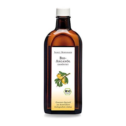Sanct Bernhard Bio-Arganöl, Speiseöl geröstet, kaltgepresst 250 ml