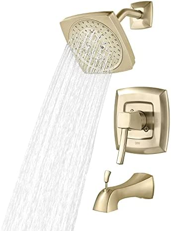 Top 10 Best tub shower faucet set with valve Reviews