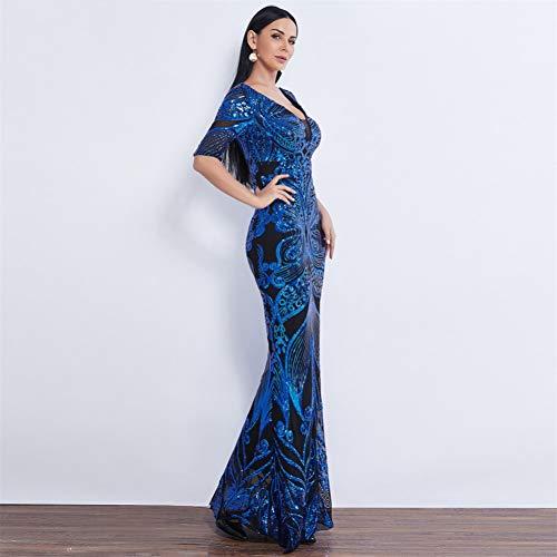 BINGQZ Feestjurk/Vlinderstijl Pailletten Avondjurk Feestjurk formele zeemeermin nachtjurk Avondjurk gala jurk