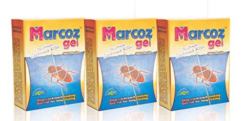 MMR Making Marvelous Marcoz Ultimate Cockroach Killer Anti Roach Gel - Pack of 3