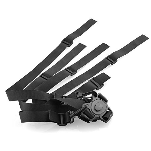 Venoka - Imbracatura per seggiolone a 5punti, con Cintura Sicurezza, anche per passeggino e seggiolino
