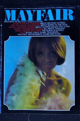 MAYFAIR UK Vol 02 N° 8 1967 08 TRES RARE ANNABEL John ADAMS Joseph STRICK ERICA CROME SERGE JACQUES