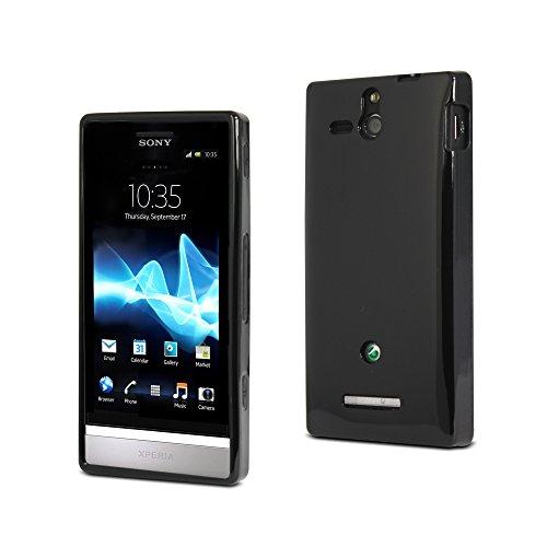 Muvit SESKI0007Custodia per Sony Ericsson Xperia U, colore: nero