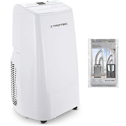TROTEC Condizionatore d'aria locale PAC 3500 E (3,5 kW) 3 in 1: condizionamento veloce, ventilazione rinfrescante, forte deumidificazione dell'aria incluso AirLock 1000