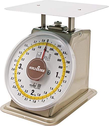 高森コーキ 上皿自動秤 ベージュ 4kg ワールドボス(WORLD BOSS) 並型上皿自動秤 MYM-4