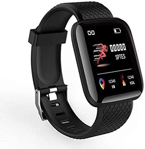 SportSmart Kinderuhr Smart Clock Fitness Tracker Enfants intelligente Black Watch,nero