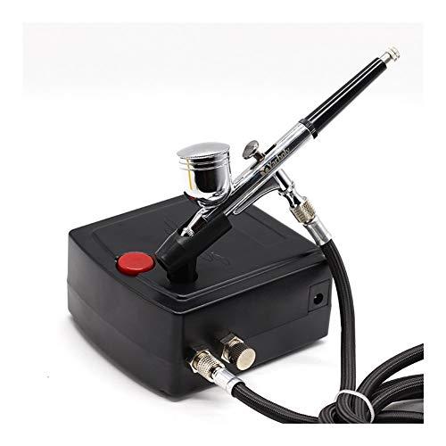 Amplio rango 0.2mm del aerógrafo pintura compresor del aerógrafo del cepillo de aire Pistola de pulverización...