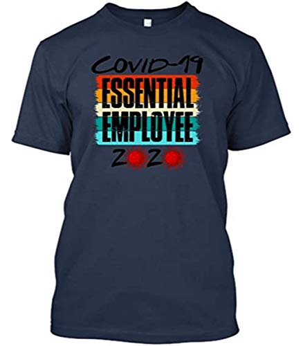 Co-vid 19 Corona-Virus Essential Employee 2020 Shirt Tshirt Cool Designs Graphic Plus Size Tees Cute Black