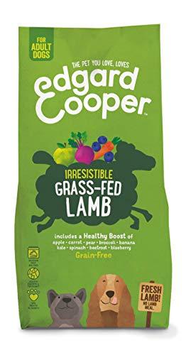 Edgard & Cooper Droog Hondenvoer voor Volwassen Honden met Vers gras lam - Graanvrij en Boordevol vers vlees (7 kg)