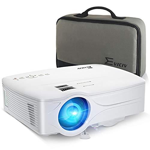Eviciv Mini WiFi Projector, 1080P and 120