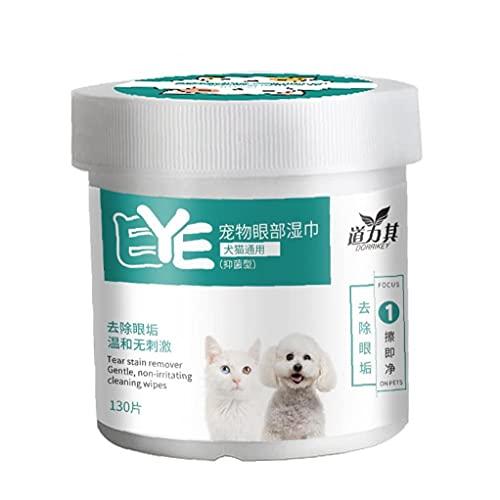 Murezima 130 Unids Desechable Tejido No Tejido Soft Teagle Soft Soft Sofoting Toalla Lágrimas Limpieza Pad para Mascotas Uso Diario