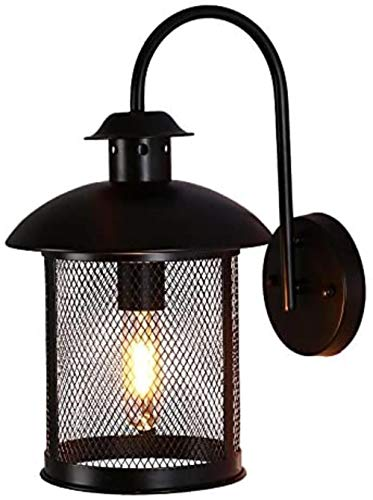Single Head netwerk van het ijzer wandlamp, E27 fitting, American Country Retro Industriële verlichtingsinstallaties for/restaurant/bar/Corridor