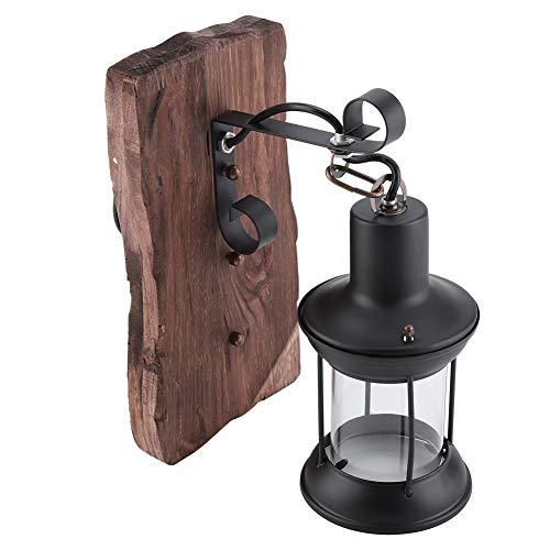 AYNEFY Lámpara de Pared, Lámpara de Pared Vintage Retro Vintage Lámpara de Pared Vintage para Bombilla E27 Lámpara de Pared de Pasillo Lámpara de Montaje en Pared para café