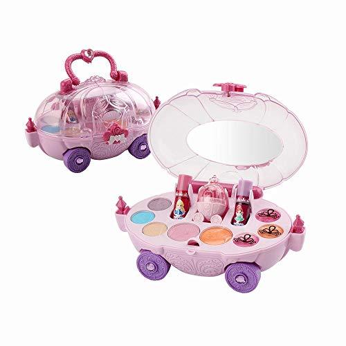 GoolRC Trucco Realistico (Lavabile) Trucchi Bambina Set di Cosmetici per Bambini Trucco Ragazza Giocattolo Sicurezza di Bellezza per Bambini ¡