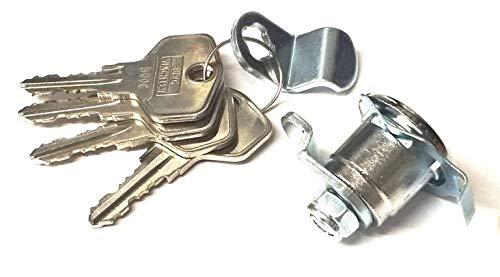 Renz Briefkastenschloß ab 1990 Ausführung Burg Wächter ZBK71 4 Schlüssel