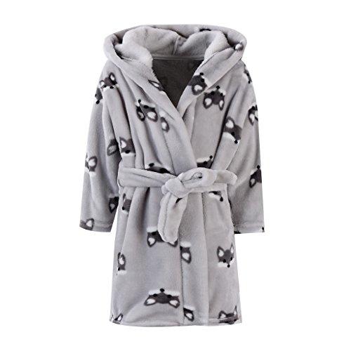 Baby badjas met capuchon jongens meisjes nachtkleding 4-5 Jahre C