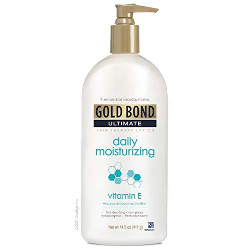 Gold Bond Ultimate Daily Moisturizing Skin Therapy Lotion Vitamin E, Hydrates & Nourishes, 14.5 oz