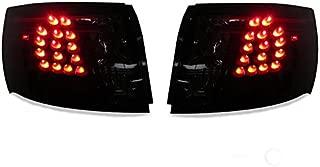 DEPO Black/Smoke LED Tail Light FOR 2008-2014 Subaru Impreza WRX 4D Sedan and 2008-2011 Impreza NON WRX 4D Sedan