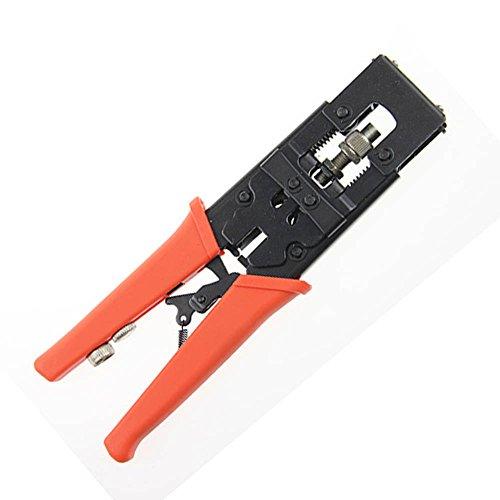 Nuzamas Outil de compression de câble coaxial BNC RCA F RG59/58/6