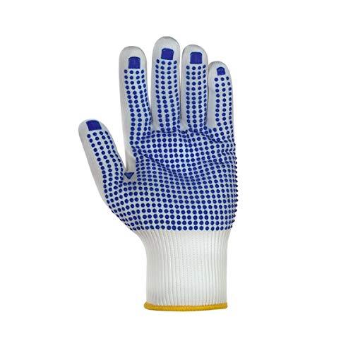 teXXor 12 paar fijne gebreide handschoenen NYLON maat 11