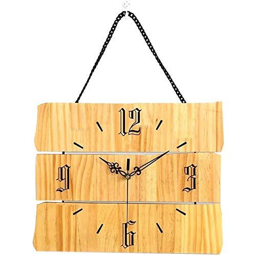 NGXIWW Wanduhr Dekoration Massivholz Mauthe Wanduhr Mode Uhr Outdoor Garten Wanduhr Für Büroküche