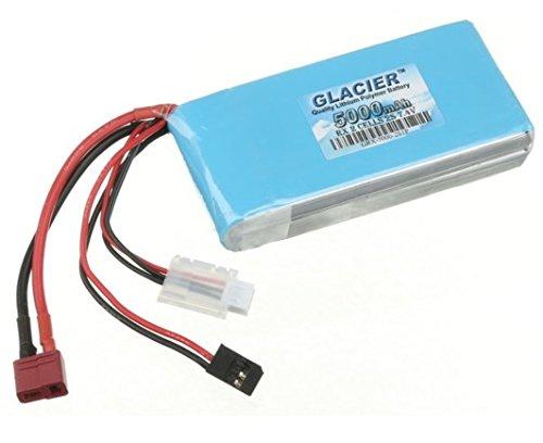 Glacier 5000mAh 2S 7.4V LiPo Receiver Battery