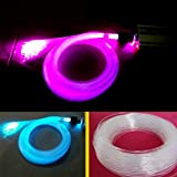Uonlytech Guirnalda de luces LED (0,75 mm, 100 m, fibra de vidrio), diseño de cielo estrellado