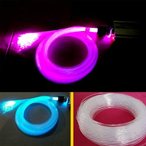 Uonlytech 0,75 mm 100 Meter LED Glasfaser Sternenhimmel Lichterketten Lichterschlauch