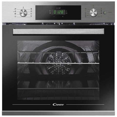 Candy - Forno Elettrico da Incasso FSCTX886 WIFI Capacità 70 L Multifunzione Ventilato Cottura a Vapore Potenza 3500 W