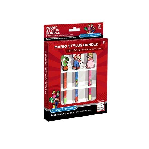 Mario Stylus Bundle for Nintendo 3DS/DS