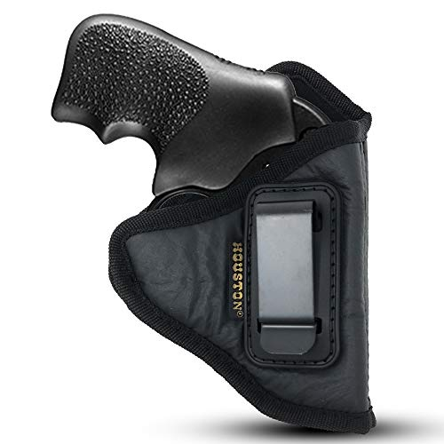 IWB Revolver Holster by Houston - ECO Leather Concealed...