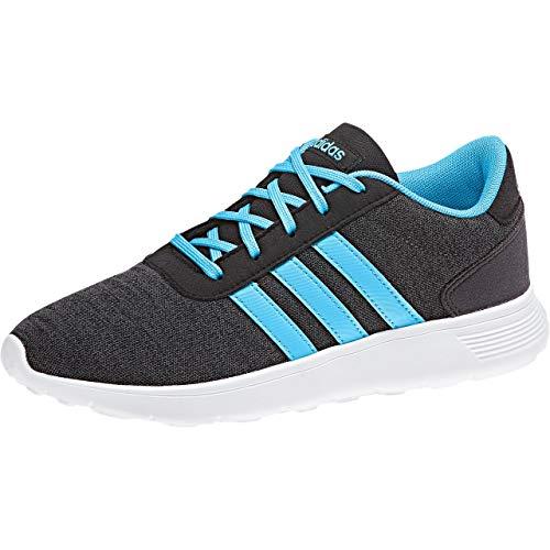 Adidas Lite Racer K,  Zapatillas de Deporte Unisex Adulto,  Negro (Negbás/Ciabri/Carbon 000),  40 EU